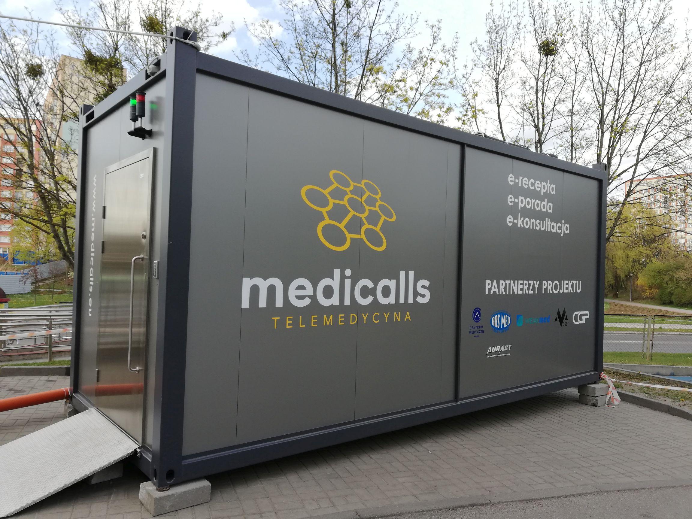 Die Telemedizinische Plattform Medicalls (eng, ger)